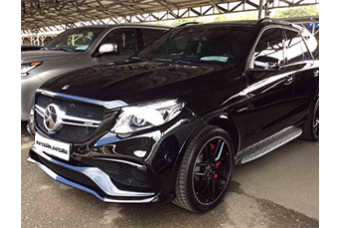 Mercedes-Benz GLE AMG 63 S '17